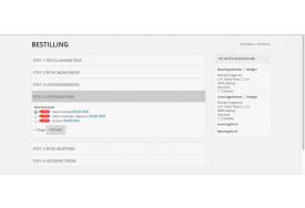Pacsoftmodulet fra TRIC kan også indstilles til at vise små logoer ved hver fragtsats på Magento webshoppen.