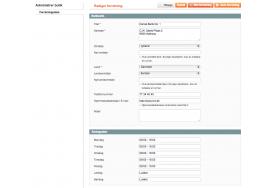 Magento modulet gør det let at vedligeholde en oversigt over dine butikker og deres informationer som adresse, telefonnummer og åbningstider.
