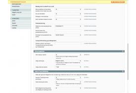 Funktionen af Post Danmark afhentningssteder og Track & Trace kan indstilles i Magento modulet