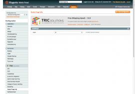 Gratis Fragt Info aktiveres/deaktiveres under System - konfiguration