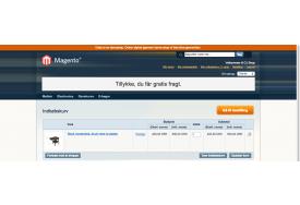Gratis Fragt Info modulet til Magento viser, at kunden får fri fragt