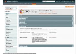 Gavekort håndteres naturligvis også i e-conomic integrationen til Magento fra TRIC Solutions