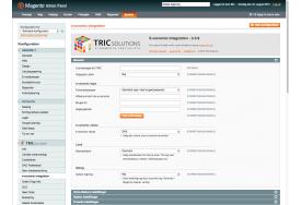 TRICs e-conomic modul til Magento kan forbinde med almindeligt login med brugernavn/password. Du kan indstille standard valuta og land og aktivere logning