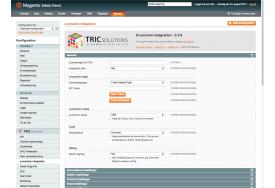 TRICs e-conomic modul til Magento kan også forbinde med Tokenbaseret login.