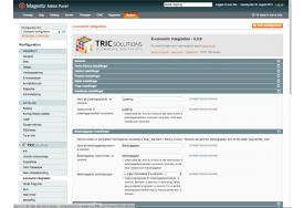 Håndtering af kreditnotaer og betalingsgebyrer kan også indstilles i modulet til e-conomicintegration