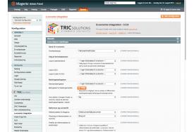 TRICs e-conomic modul til Magento giver dig en lang række af muligheder for at indstille overførsel af ordrer eller fakturaer og kreditnotaer, bogføring mv.