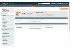 Magento modul til vedvarende brugerlogin - TRIC Solutions