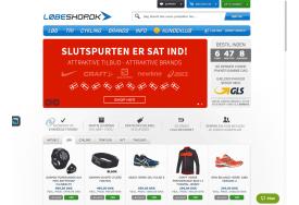 Eksempel på tilpasset styling Loebeshop.dk