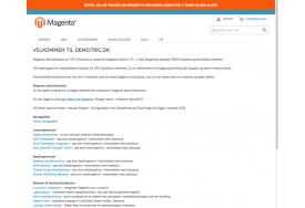 Eksemel på Nedtælling til næste levering indsat i modulet Notifikationsbar på demo.tric.dk