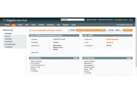 """Næste ordre modulet til Magento tilføjer """"Forrige"""" og """"Næste"""" knapper til ordrevisningen i backend. Det gør det let og hurtigt at bladre mellem ordrerne"""